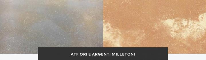 Декоративная краска ATF ORI E ARGENTI MILLETONI
